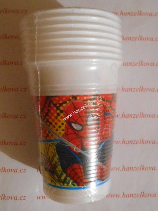 Kelímky 200ml Spiderman 8ks