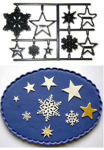 Patchwork - Snowflakes and Stars