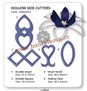 JEM Hollow cake side cutters