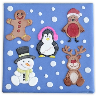 Patchwork - Cute Christmas Characters